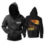 Merchandise Hoodie As Blood Runs Black Ground Zero Pullover