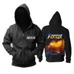 Merchandise Hoodie Accept Rock Band Black Pullover