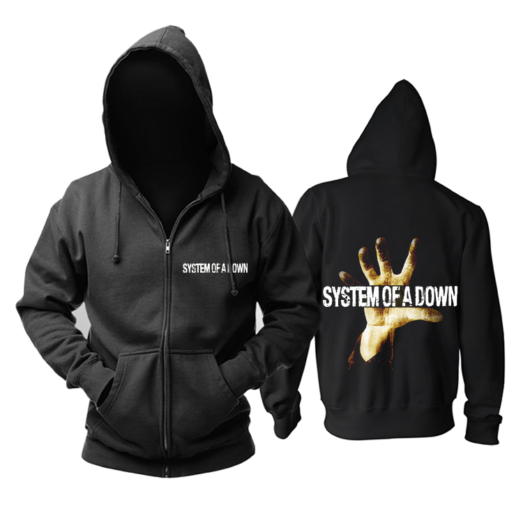 Merchandise Hoodie System Of A Down Album Cover Pullover