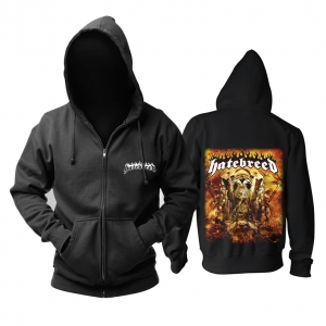 Collectibles Hoodie Hatebreed Hatebreed Album Cover Pullover