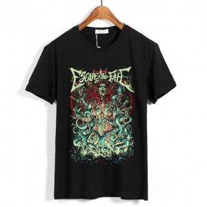 Collectibles T-Shirt Escape The Fate Diva Nation Black