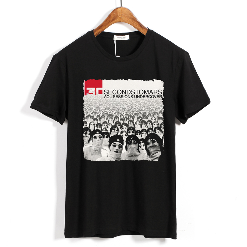 Merchandise T-Shirt Thirty Seconds To Mars Aol Sessions Undercover