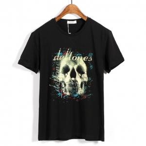Merchandise T-Shirt Deftones Skull Black