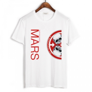 Merchandise T-Shirt Thirty Seconds To Mars A Beautiful Lie White