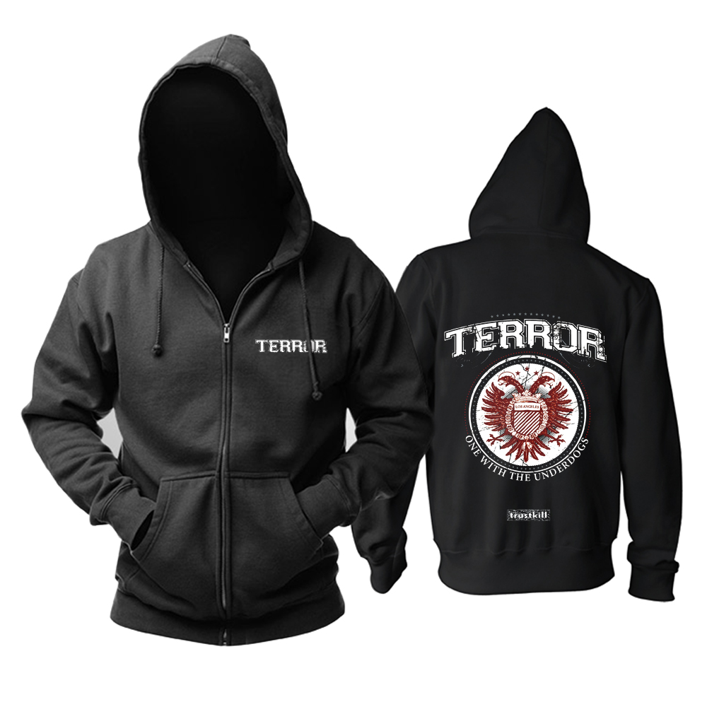 Collectibles Hoodie Terror One With The Underdogs Black Pullover