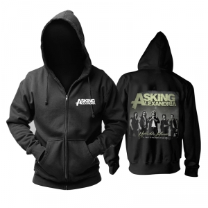 Merch Hoodie Asking Alexandria Under The Influence Pullover