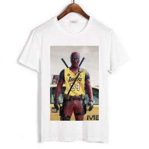 Merch T-Shirt Deadpool Lakers White