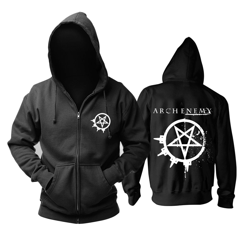 Collectibles Hoodie Arch Enemy Logo Black Pullover