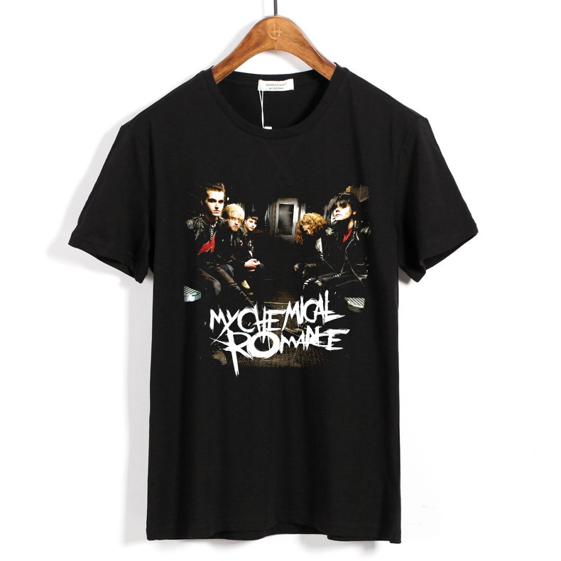 Collectibles T-Shirt My Chemical Romance Rock Band Black