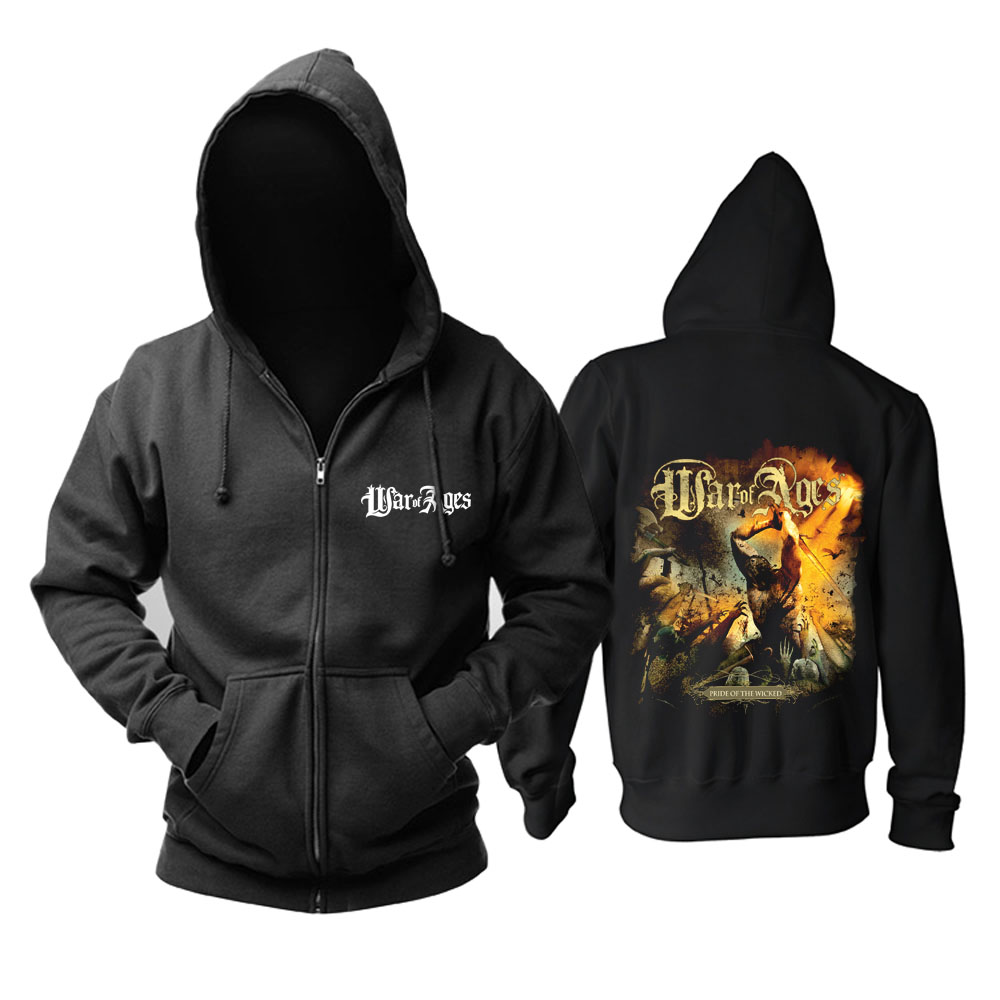 Collectibles Hoodie War Of Ages Pride Of The Wicked Pullover