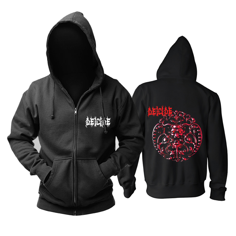 Merch Hoodie Deicide Death-Metal Music Pullover
