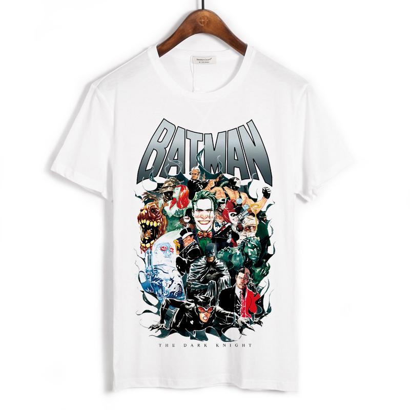 Collectibles T-Shirt Batman The Dark Knight White
