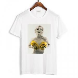Merchandise T-Shirt Marilyn Monroe Yellow Roses