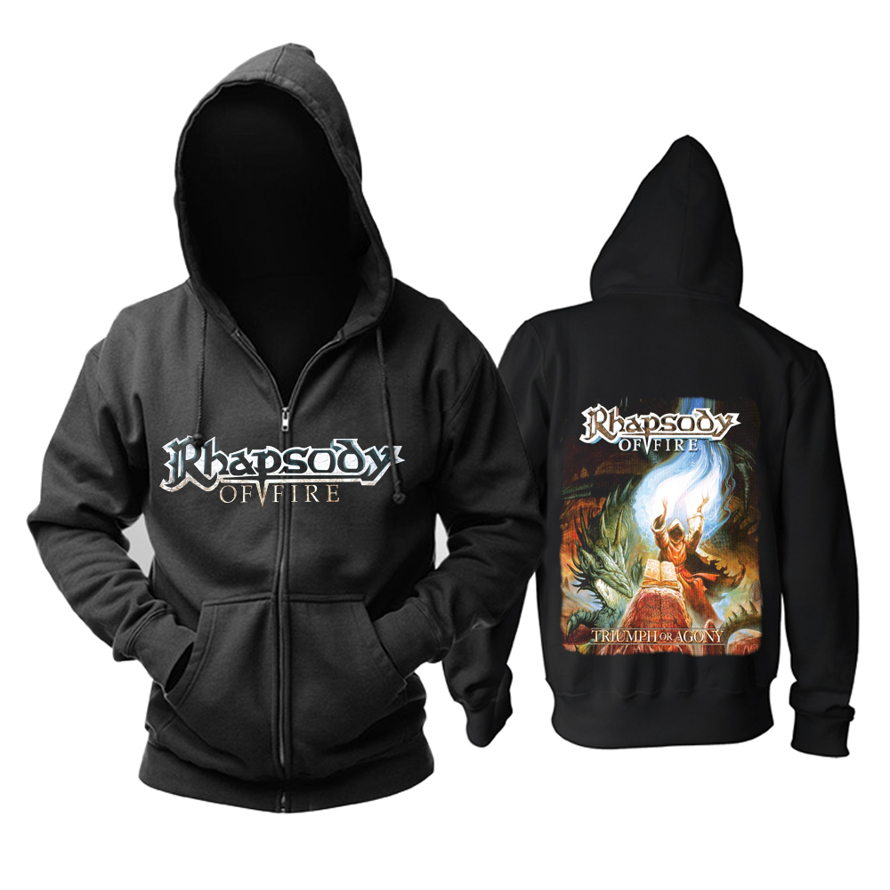Collectibles Hoodie Rhapsody Triumph Or Agony Pullover