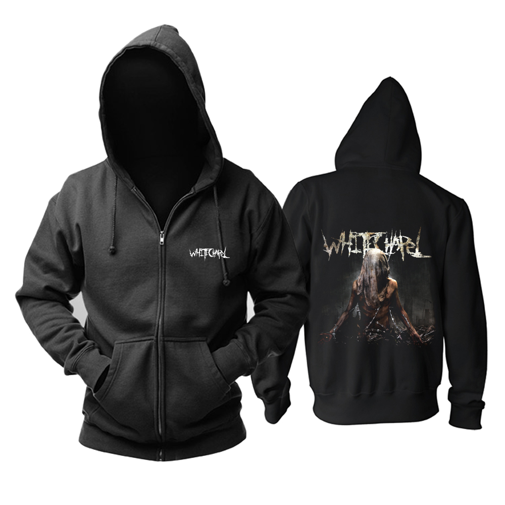 Merch Hoodie Whitechapel This Is Exile Pullover