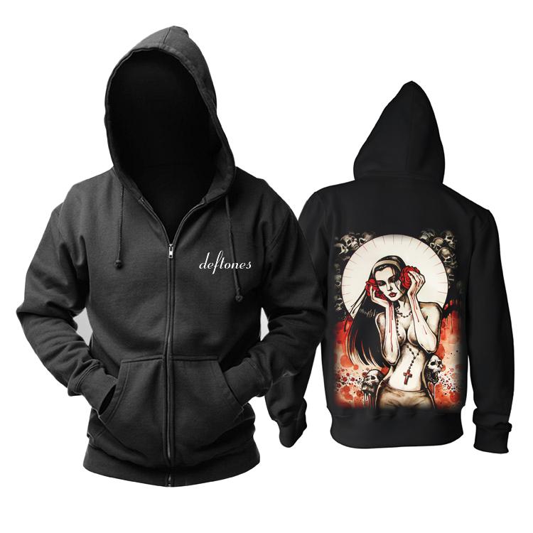 Collectibles Deftones Hoodie Metal Music Pullover