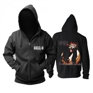 Merch Hoodie Deicide Scars Of The Crucifix Pullover
