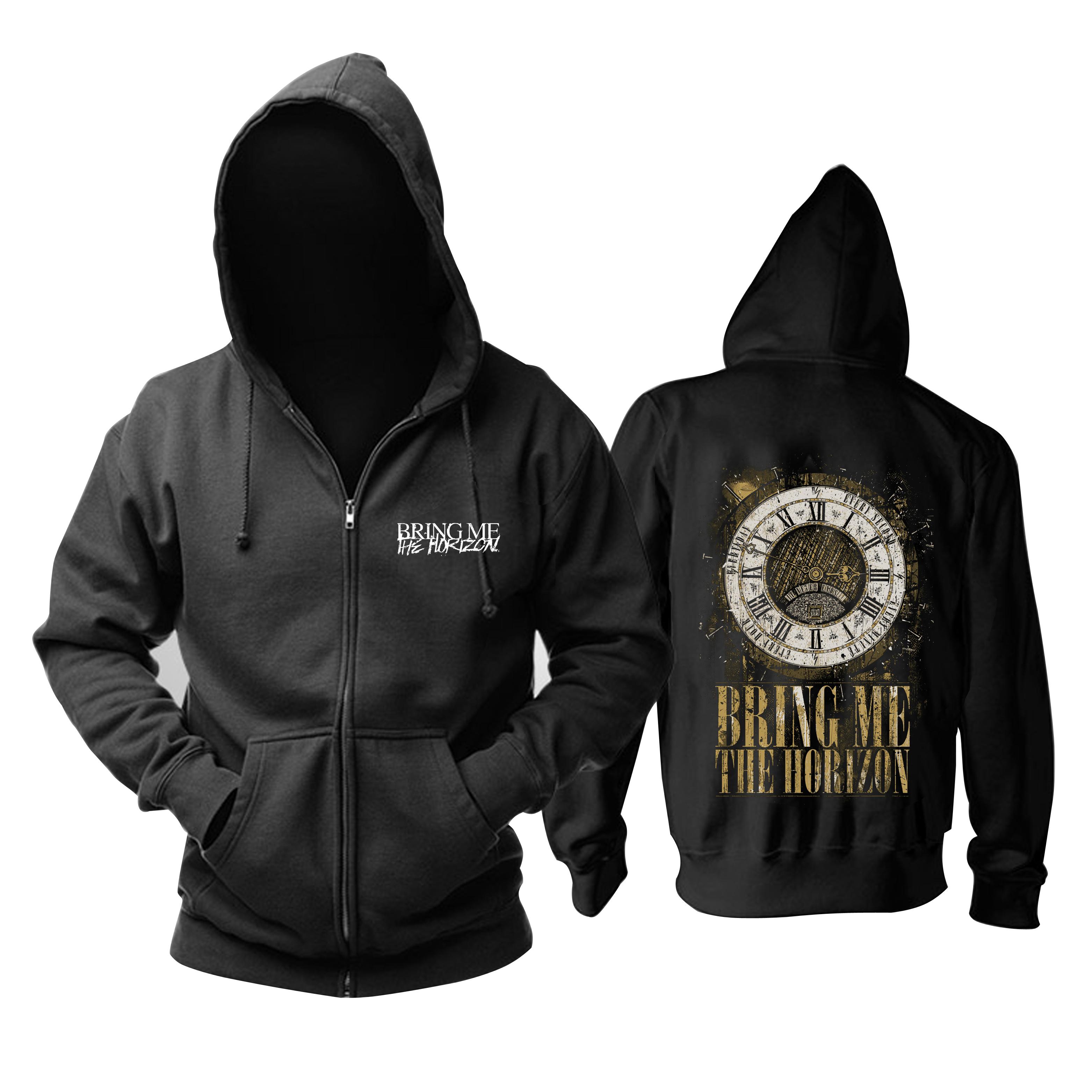 Merchandise Black Hoodie Bring Me The Horizon It Never Ends