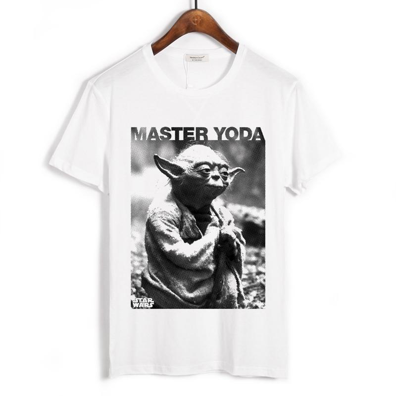 Collectibles T-Shirt Star Wars Master Yoda White