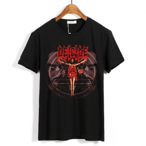 Merch T-Shirt Deicide Once Upon The Cross