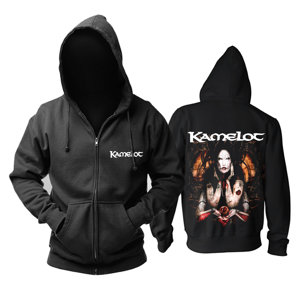 Merch Hoodie Kamelot The Gift Black Pullover