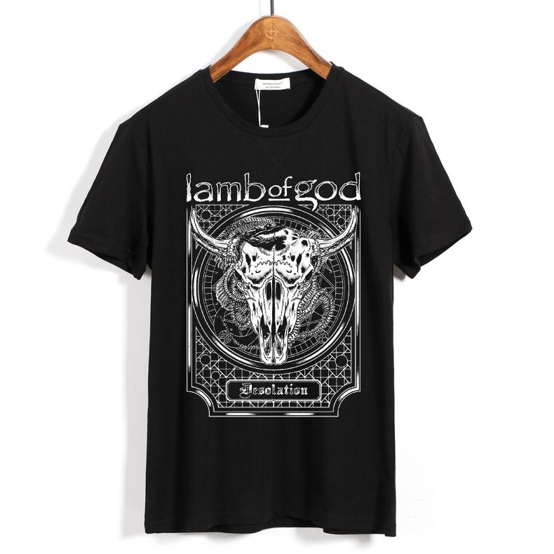 Merchandise T-Shirt Lamb Of God Desolation Black