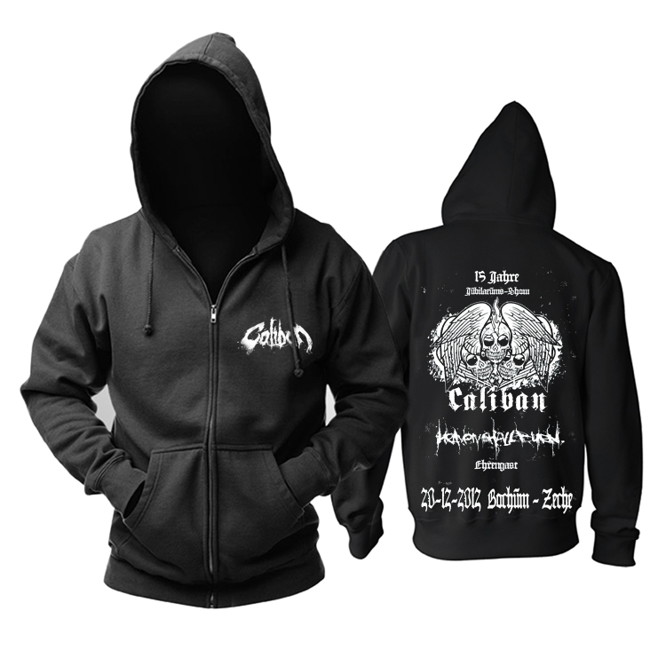 Collectibles Hoodie Caliban Metalcore Black Pullover