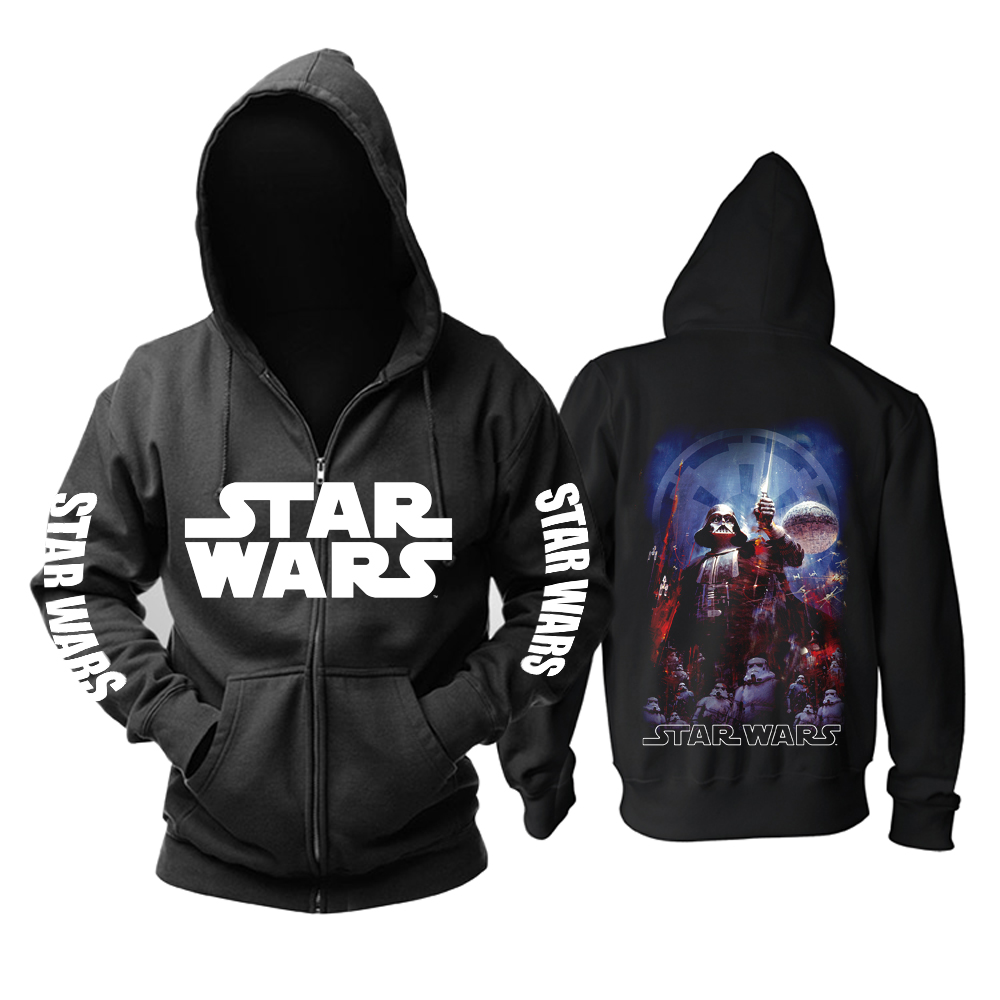 Merch Hoodie Star Wars Darth Vader Galactic Empire Pullover