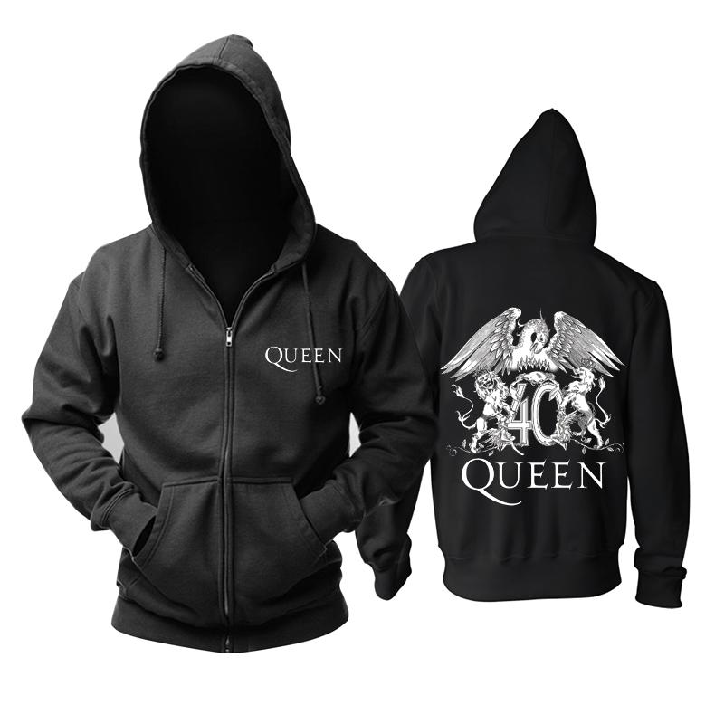 Merch Hoodie Queen 40 Rock Pullover