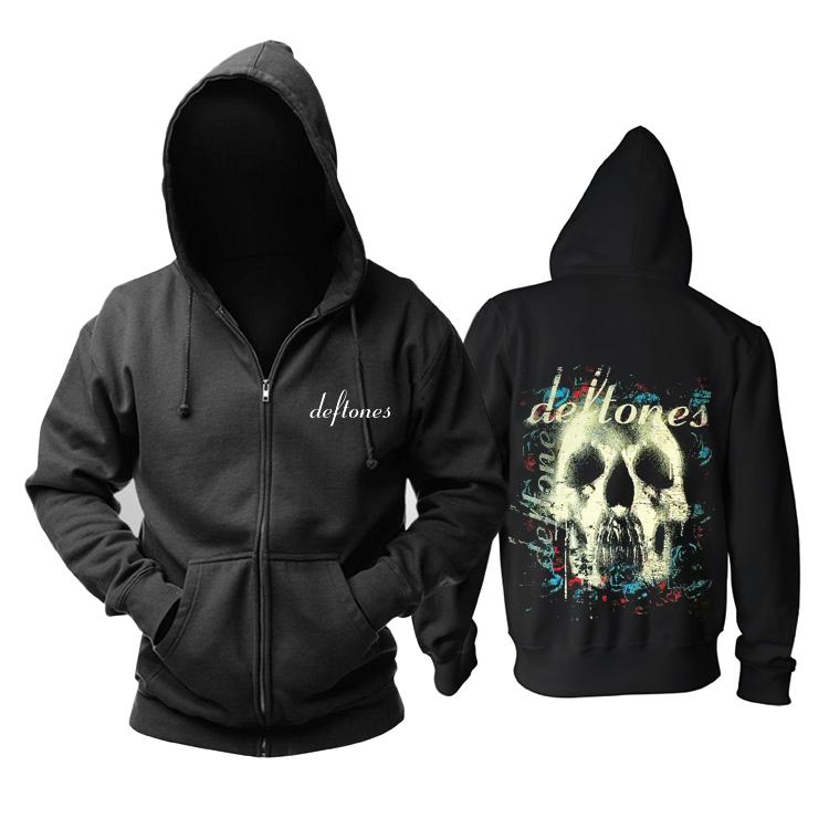 Collectibles Hoodie Deftones Skull Black Pullover