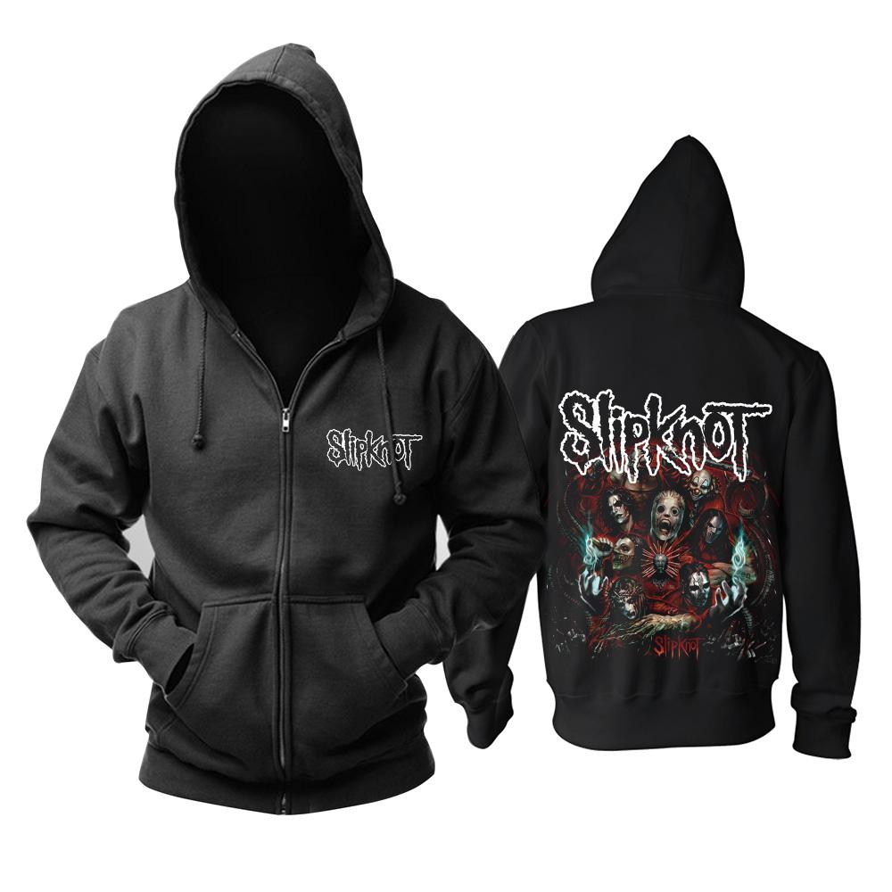 Merchandise Hoodie Slipknot Groove Metal Music Pullover