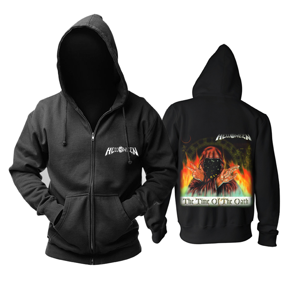 Merchandise Hoodie Helloween The Time Of The Oath Pullover