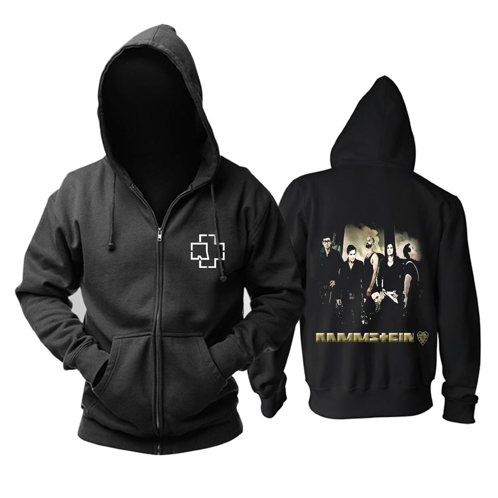 Merchandise Rammstein Hoodie Rock Band Pullover