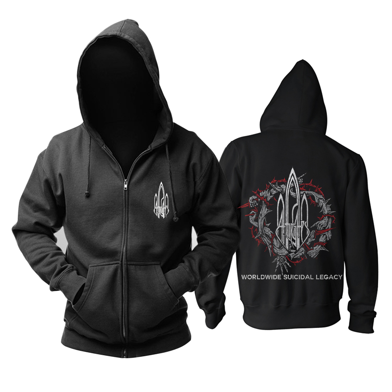 Merch Hoodie At The Gates Worldwide Suicidal Legacy Pullover