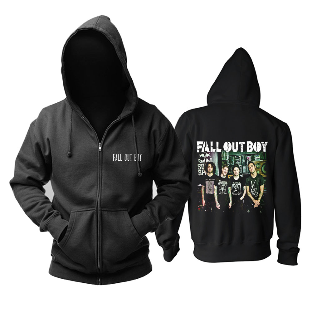 Collectibles Fall Out Boy Hoodie Rock Band Pullover
