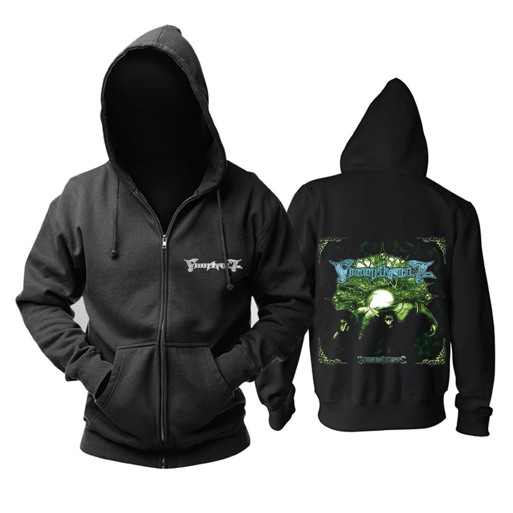 Merchandise Hoodie Finntroll Visor Om Slutet Pullover