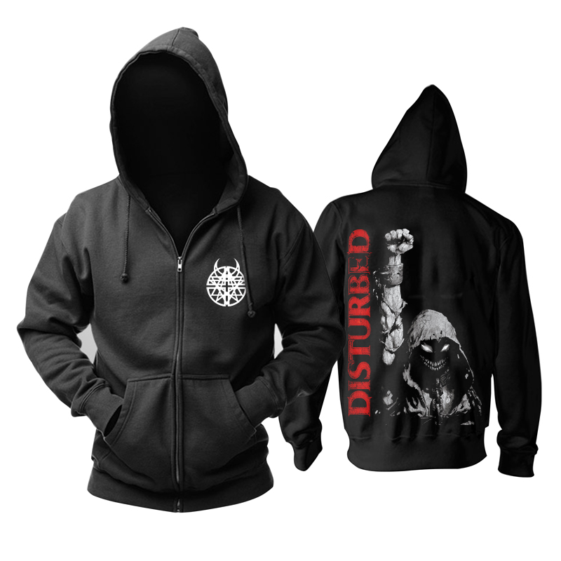 Merch Hoodie Disturbed Up Your Fist Pullover