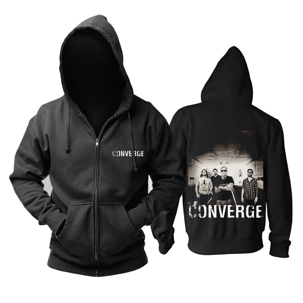 Collectibles Hoodie Converge Hardcore Punk Band Pullover