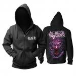 Merchandise Hoodie As Blood Runs Black The Nightmare Pullover