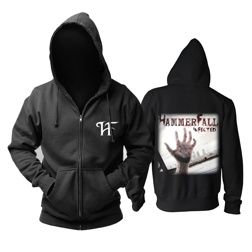 Merch Hoodie Hammerfall Infected Pullover