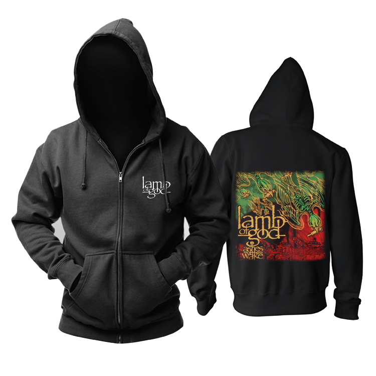 Merchandise Hoodie Lamb Of God Ashes Of The Wake Pullover