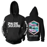 Collectibles Hoodie Imagine Dragons Visions Black Pullover