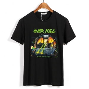 Collectibles T-Shirt Overkill Under The Influence