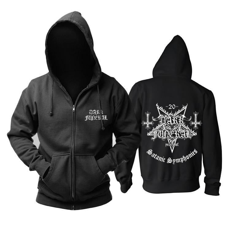 Merchandise Hoodie Dark Funeral Satanic Symphonies Pullover