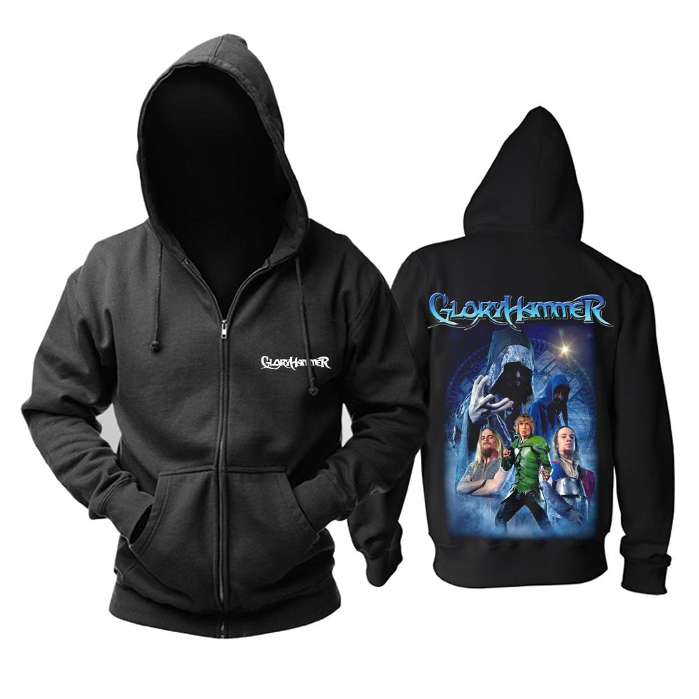 Merchandise Hoodie Gloryhammer Power Metal Music Pullover