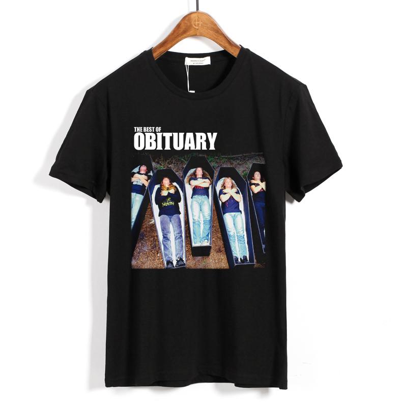 Merch T-Shirt Obituary The Best Of Obituary