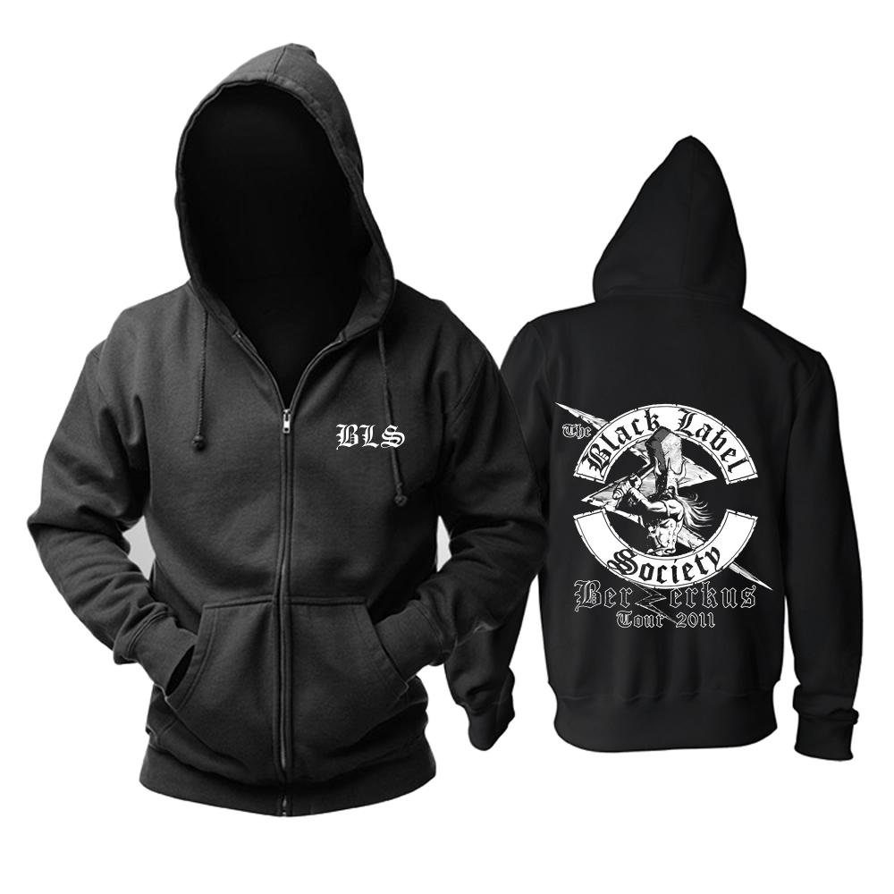 Merch Black Label Society Hoodie Berserkus Pullover