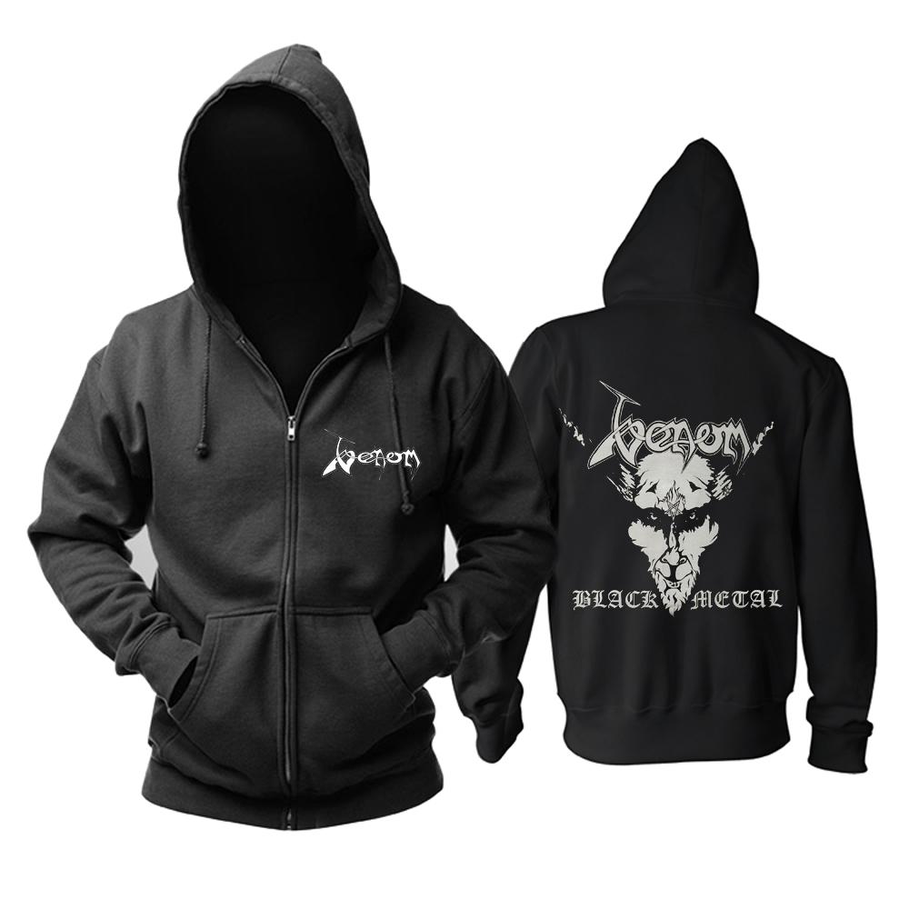 Merchandise Hoodie Venom Black Metal Album Cover Pullover