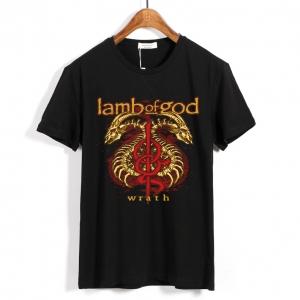 Merchandise T-Shirt Lamb Of God Wrath Trash-Metal