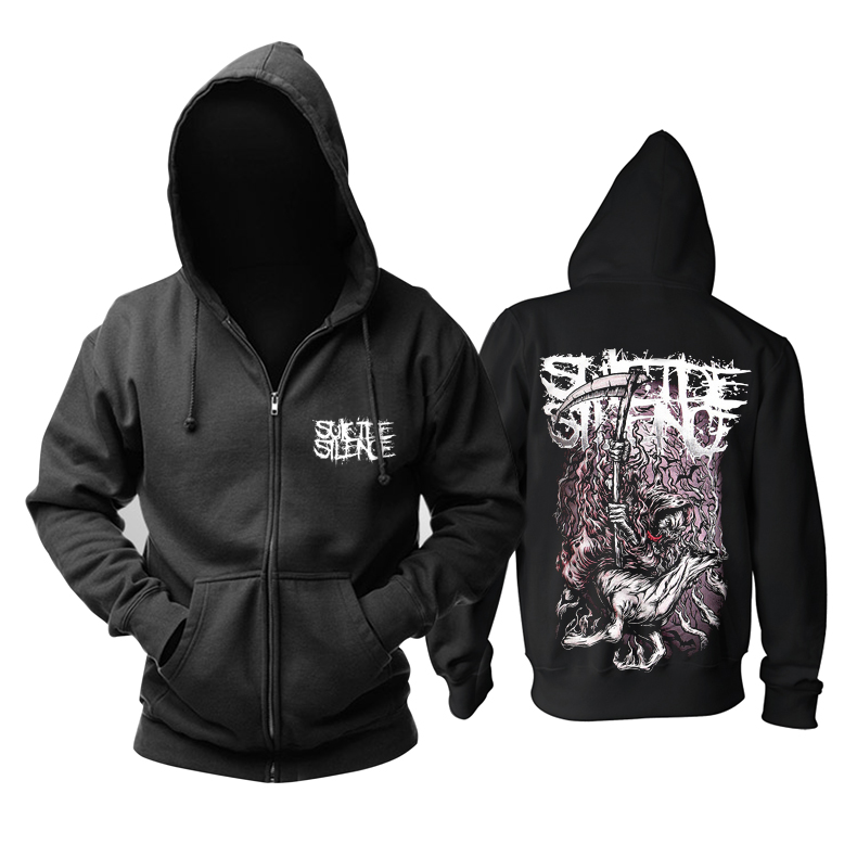 Collectibles Suicide Silence Hoodie Deathcore Pullover